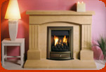 Cotswold stone fireplaces